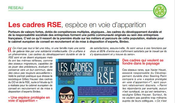 Repères RSE - 01/2015