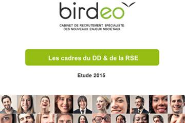 Les cadres du DD et de la RSE – Etude 2015