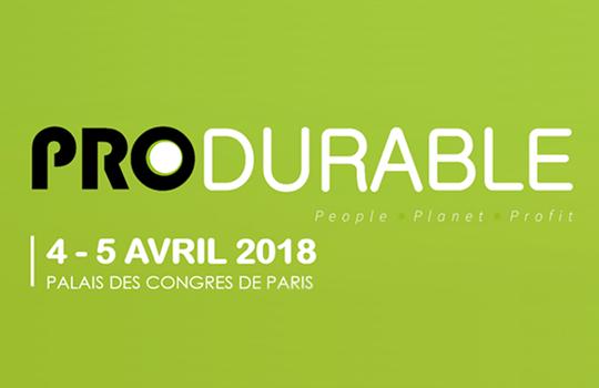 Produrable 2018 : nos conférences et tables-rondes