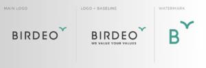 Identité visuelle Birdeo